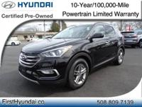 HYUNDAI CERTIFIED - AWD ONLY 3K MILES One Owner Santa