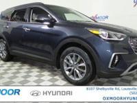2017 Hyundai Santa Fe Limited AWD. Price includes: