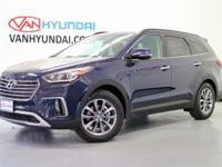 2017 Hyundai Santa Fe SE  Van Hyundai proudly serving