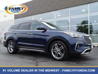 Check out this certified 2017 Hyundai Santa Fe Limited