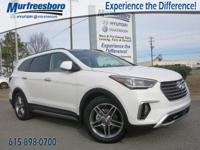 2017 Hyundai Santa Fe Limited Ultimate White EXCLUSIVE
