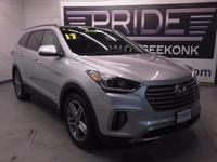 Navigation! All Wheel Drive! This handsome 2017 Hyundai