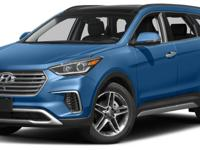 2017 Hyundai Santa Fe Limited Ultimate AWD, Blk