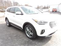 2017 Hyundai Santa Fe Keyless Entry, Satellite Radio,