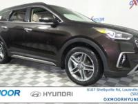 2017 Hyundai Santa Fe Limited Ultimate AWD, Leather.