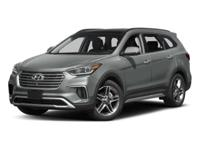 2017 Hyundai Santa Fe Limited Ultimate HARD TO FIND A