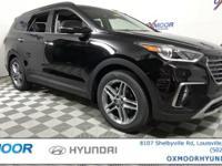 2017 Hyundai Santa Fe SE Ultimate AWD,19 Alloy Wheels &