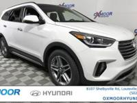 2017 Hyundai Santa Fe Limited Ultimate AWD, Leather. 19