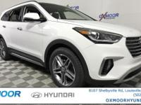 2017 Hyundai Santa Fe Limited Ultimate AWD,3.3L