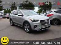Frost 2017 Hyundai Santa Fe AWD 6-Speed Automatic with