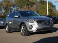 2017 Hyundai Santa Fe LTD ULT FWD  3rd row seats: