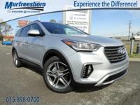 New Price! 2017 Silver Hyundai Santa Fe SE Ultimate