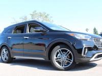 2017 Hyundai Santa Fe Limited Ultimate  Options: