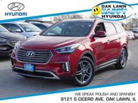 *Low Miles* *This 2017 Hyundai Santa Fe Limited