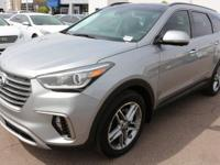 2017 Hyundai Santa Fe SE Ultimate Gray.  Options: