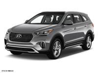Options:  2017 Hyundai Santa Fe Limited