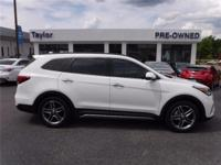 CarFax One Owner! This Hyundai Santa Fe is CERTIFIED!