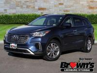 This outstanding example of a 2017 Hyundai Santa Fe SE