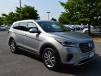 Clean CARFAX. Certified. Frost 2017 Hyundai Santa Fe SE