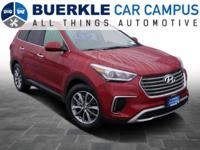 2017 Santa Fe SE. This hardly-used Hyundai crossover is