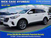 2017 Hyundai Santa Fe SE  in Monaco and 20 year or