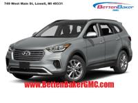 Options:  2017 Hyundai Santa Fe Se 3.3L Auto|4-Wheel