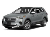 Clean CARFAX. Regal Red Pearl 2017 Hyundai Santa Fe SE
