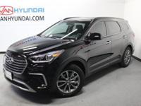 2017 Hyundai Santa Fe SE  Options:  3.041 Axle Ratio|18
