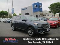 Check out this 2017 Hyundai Santa Fe SE. Its Automatic