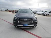 This outstanding example of a 2017 Hyundai Santa Fe SE