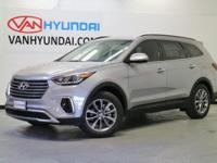 Recent Arrival! New Price! 2017 Hyundai Santa Fe SEVan