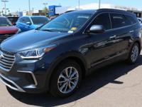 2017 Hyundai Santa Fe SE Gray.  Options:  3.041 Axle