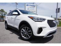 2017 White Hyundai Santa Fe SE 6-Speed Automatic with