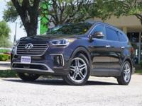 This 2017 Hyundai Santa Fe SE Ultimate is proudly