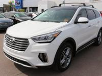 2017 Hyundai Santa Fe Limited Ultimate Gray.  Options:
