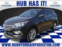 This Twlight Black 2017 Hyundai Santa Fe Sport might be