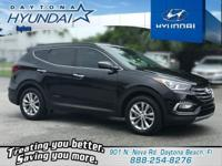 Recent Arrival! Certified. Twilight Black 2017 Hyundai