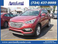 This 2017 Hyundai Santa Fe Sport 2.0T includes a push