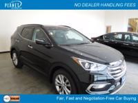 Twilight Black 2017 Hyundai Santa Fe Sport 2.0L