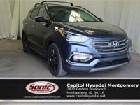 Trustworthy and worry-free, this 2017 Hyundai Santa Fe