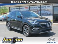 Santa Fe Sport 2.0L Turbo, FWD, Twilight Black, and
