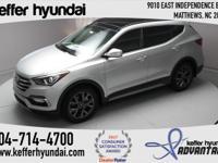 2017 Hyundai Santa Fe Sport 2.0L Turbo 2.0L I4 DGI DOHC