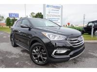 New Price! 2017 Black Hyundai Santa Fe Sport 2.0L Turbo
