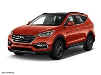 Don't miss out on this 2017 Hyundai Santa Fe Sport 2.0T