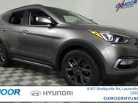 2017 Hyundai Santa Fe Sport 2.0L Turbo  Options:  Axle