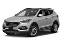2017 Hyundai Santa Fe Sport 2.0L Turbo HARD TO FIND A