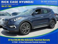 2017 Hyundai Santa Fe Sport 2.0L Turbo  in Marlin Blue