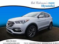 2017 Hyundai Santa Fe Sport 2.0L Turbo Silver WITH SOME