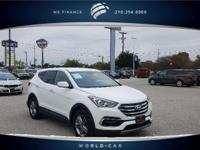 CARFAX 1-Owner. 2.4L trim, FROST WHITE PEARL exterior
