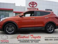Orange 2017 Hyundai Santa Fe Sport 2.4 Base 4D Sport